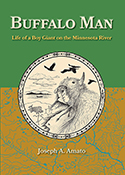 """Buffalo Man"" book cover image"