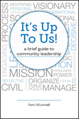 """It's Up To Us!"" book cover image"