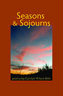 """Seasons & Sojourns"" book cover image"