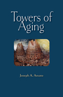 """Towers of Aging"" book cover image"
